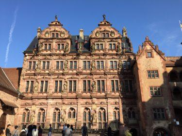 ドイツ/ハイデルベルク散策。ハイデルベルク城、哲学者の道、カールテオドール橋、ハイデルベルク学生牢へ