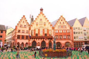 ドイツでゲーテハウス/Goethe-Hausとレーマー広場を散策