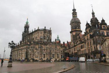 ドレスデンの旧市街・ドレスデン城、ツインガー宮殿近辺を散策