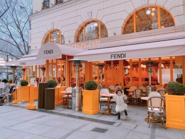 日本初上陸!期間限定FENDI カフェでランチ
